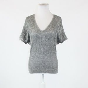 Gray EXPRESS scoop neck sweater PS